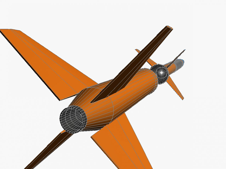 Gamma Centauro Rocket 3d model 0