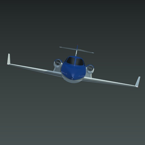 honda private jet concept 3d model 3ds fbx blend dae lwo obj 218220