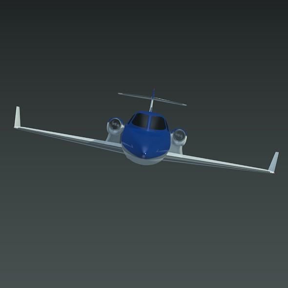 Honda private jet concept ( 17.18KB jpg by futurex3d )