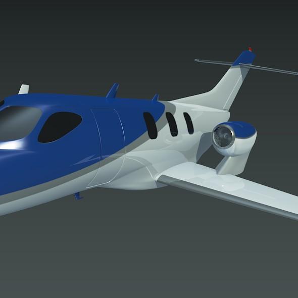 honda private jet concept 3d model 3ds fbx blend dae lwo obj 218225