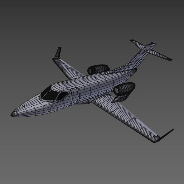 Honda private jet concept ( 91.09KB jpg by futurex3d )
