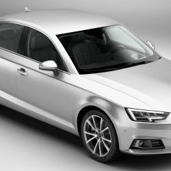 Audi A4 Sedan 2016 3d model 3ds max fbx c4d lwo lws lw ma mb obj