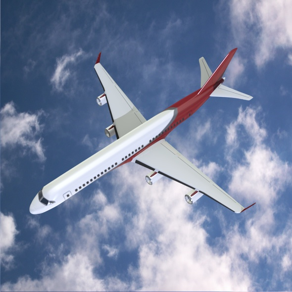 commercial jet concept 3d model 3ds fbx blend dae lwo obj 218322