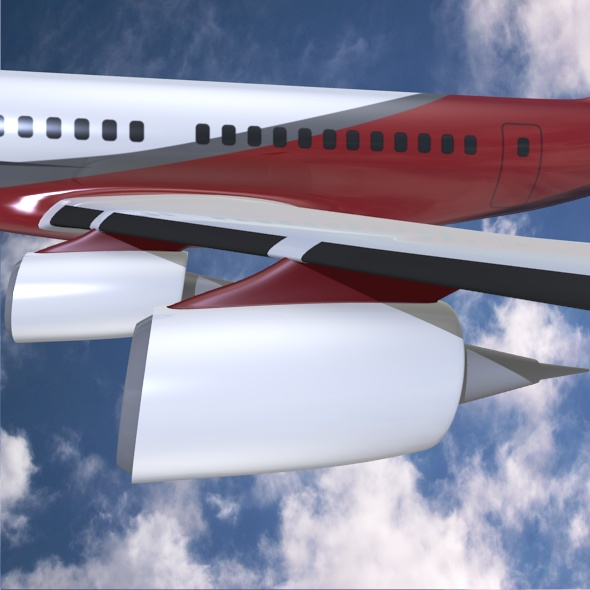 commercial jet concept 3d model 3ds fbx blend dae lwo obj 218328