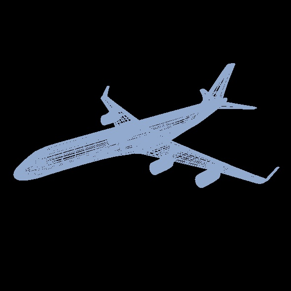 commercial jet concept 3d model 3ds fbx blend dae lwo obj 218330