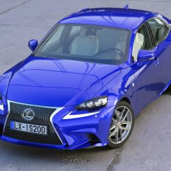 Lexus IS F-Sport 2016 3d model 0