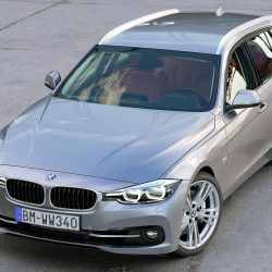 BMW 3 Series Touring 2016 3d model 0