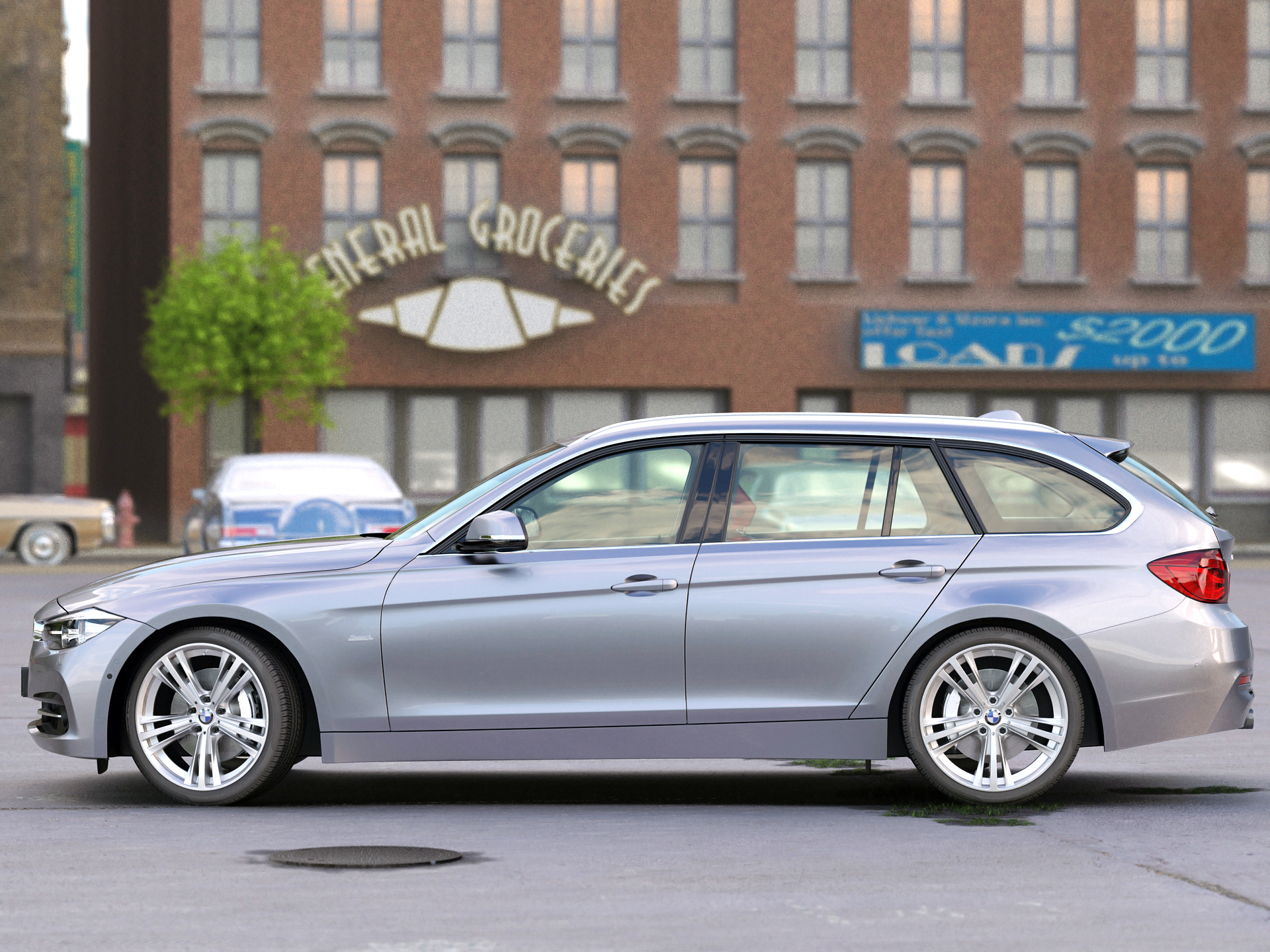 BMW F31 3 Series Touring 2016