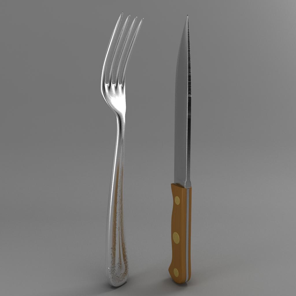 çəngəl və ağac dəsti bıçağı 3d modeli 3ds max fbx qarışığı jpeg jpg obj 218397