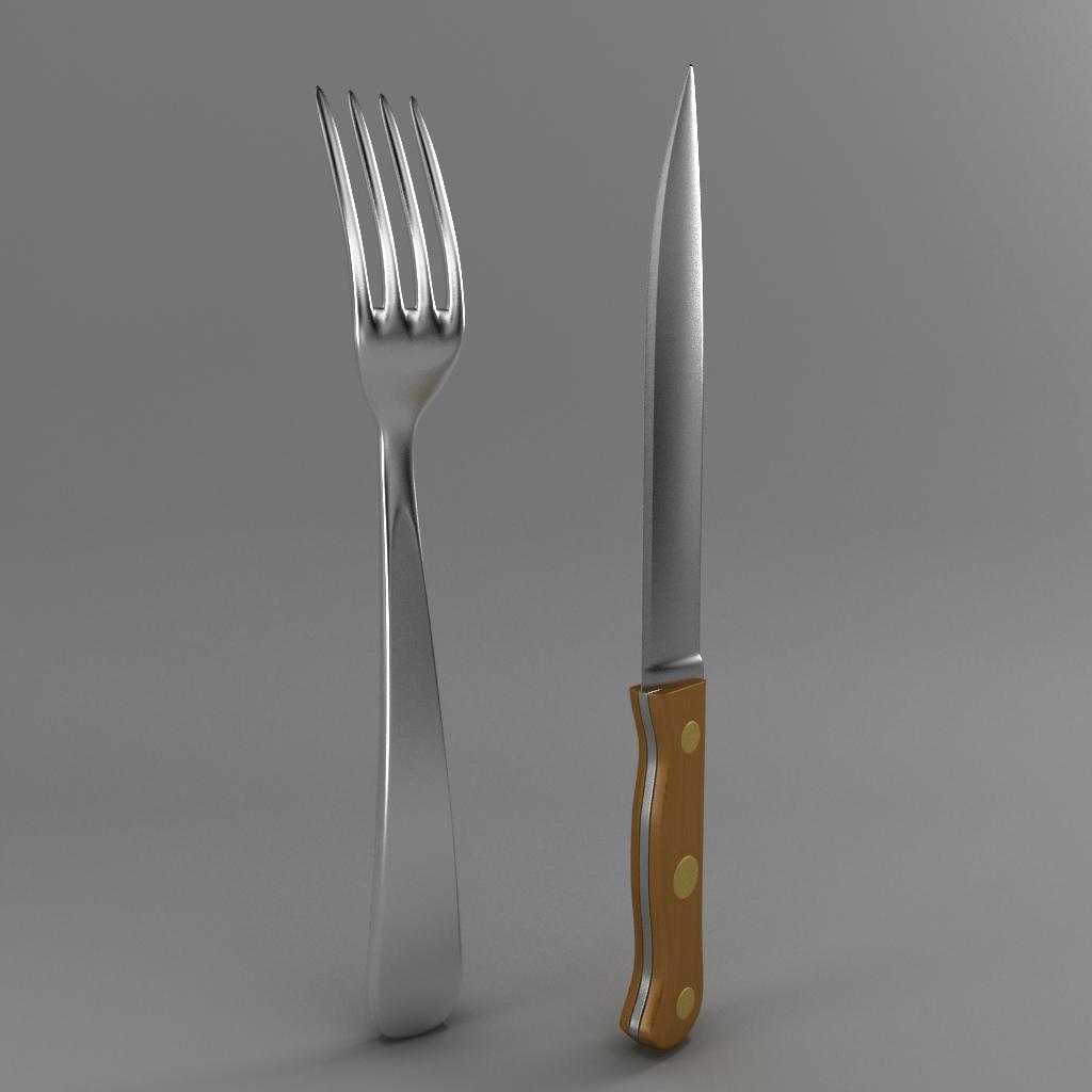 çəngəl və ağac dəsti bıçağı 3d modeli 3ds max fbx qarışığı jpeg jpg obj 218398