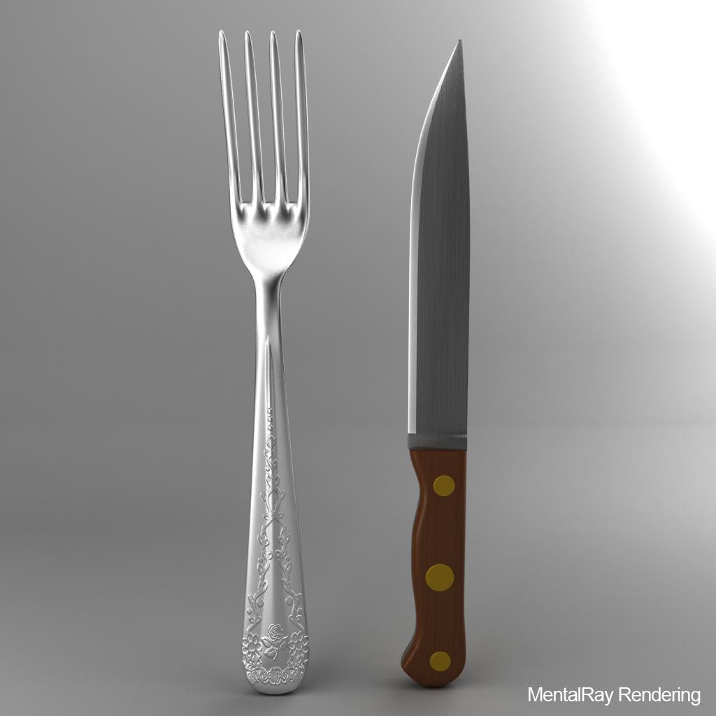 çəngəl və ağac dəsti bıçağı 3d modeli 3ds max fbx qarışığı jpeg jpg obj 218399