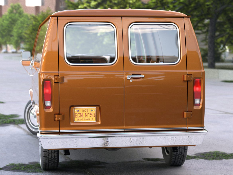 econoline cargo 1975 3d model 3ds max fbx c4d obj 218503