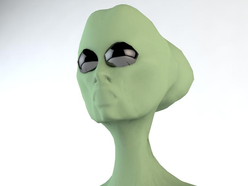 alien character 3d model 3ds fbx c4d dae obj 218605