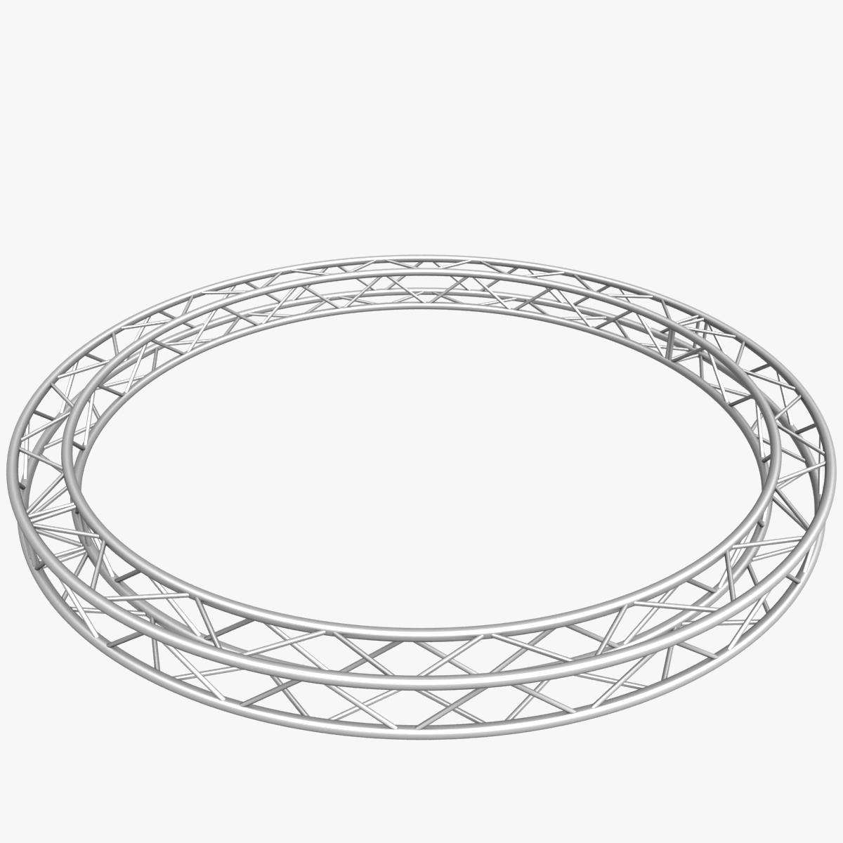 circle square truss (400cm) 3d model max fbx obj 218631