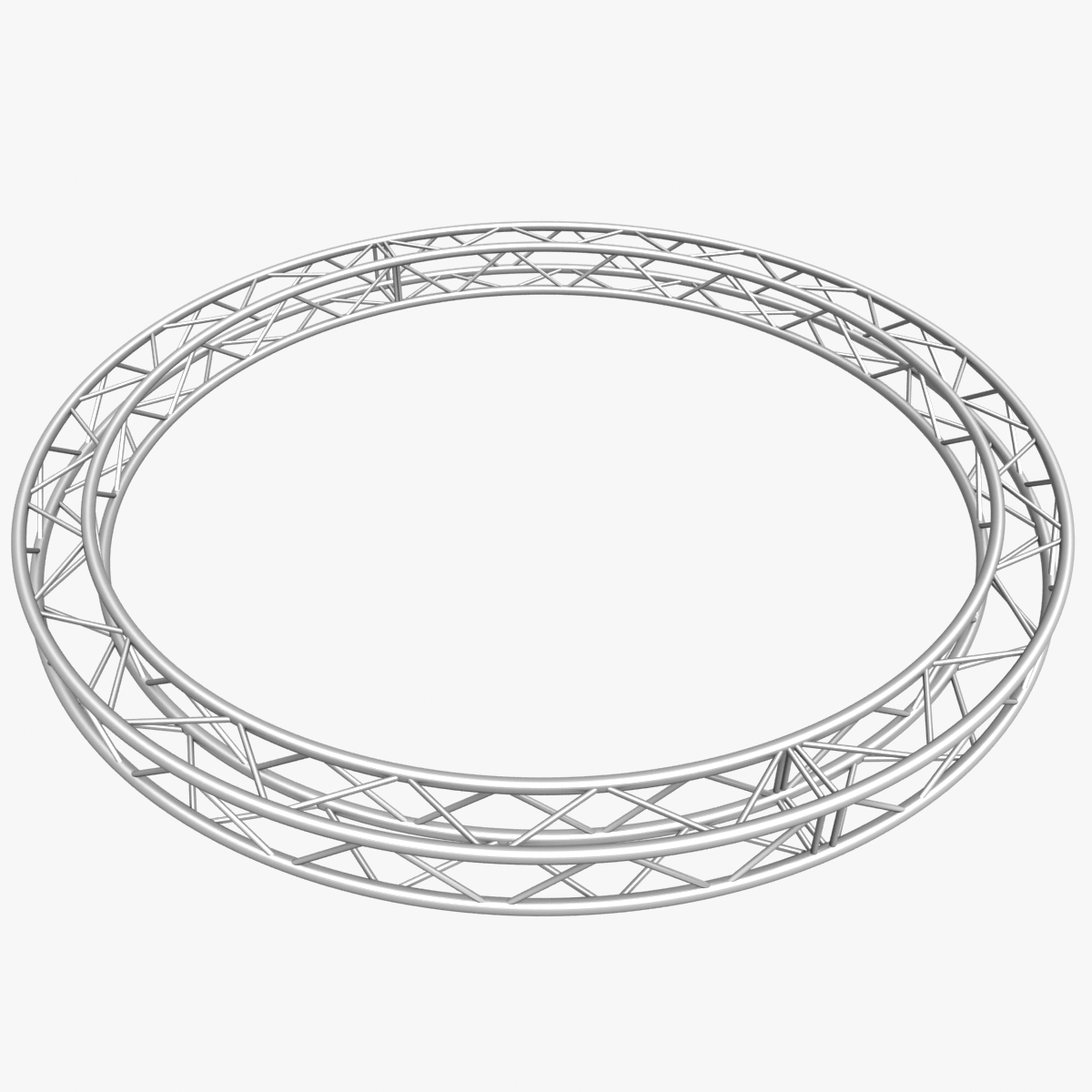 circle square truss (400cm) 3d model max fbx obj 218632