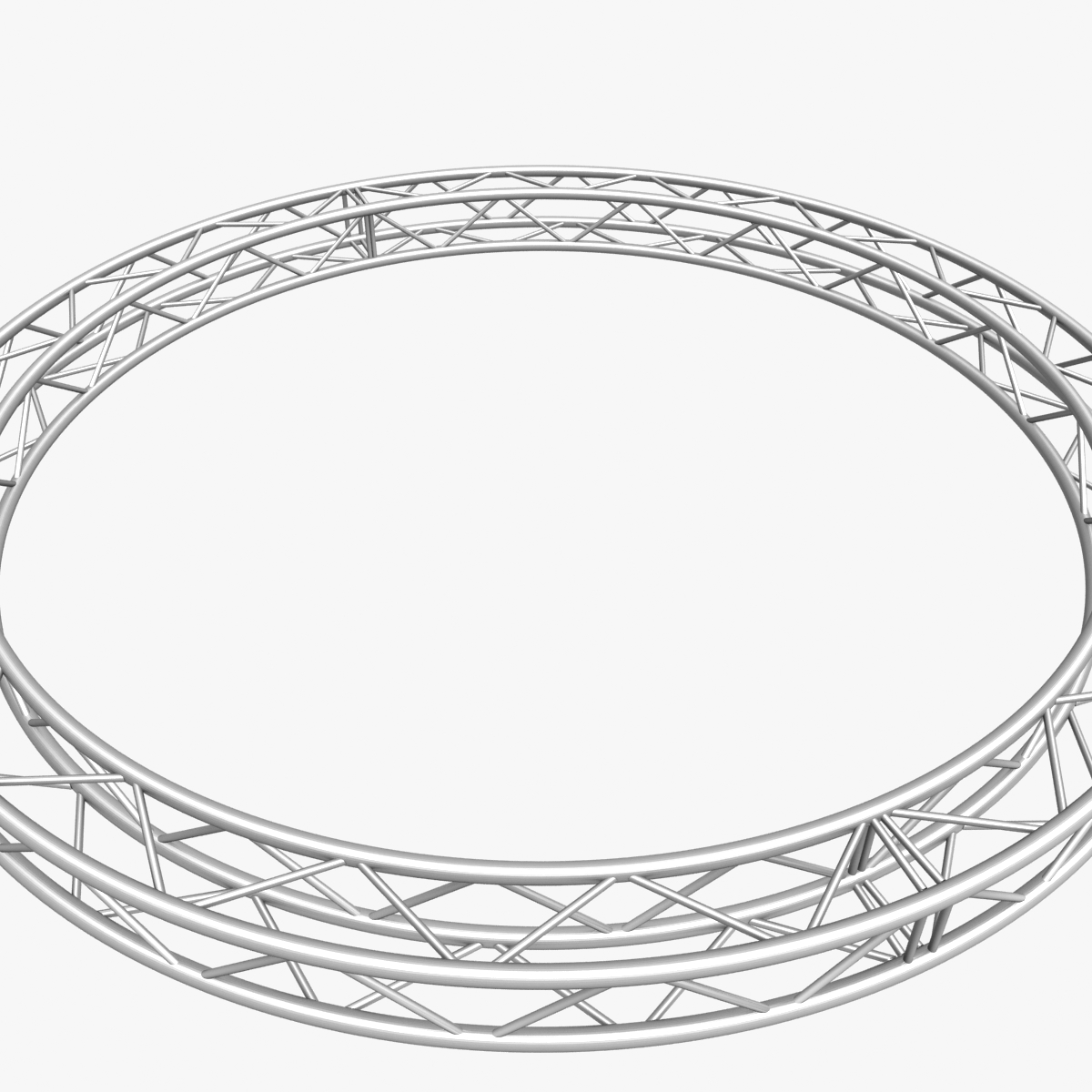 circle square truss (400cm) 3d model max fbx obj 218635