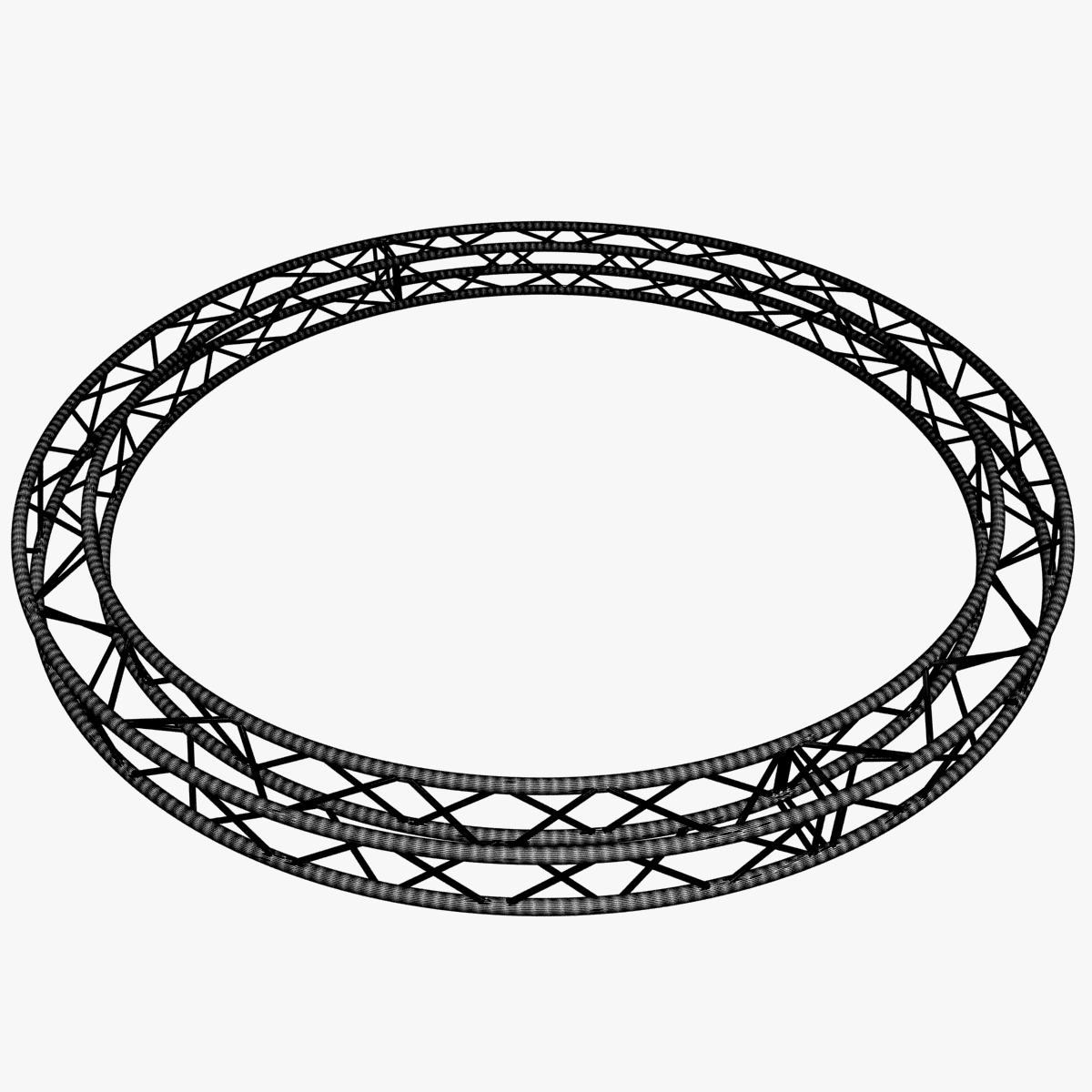 circle square truss (400cm) 3d model max fbx obj 218637