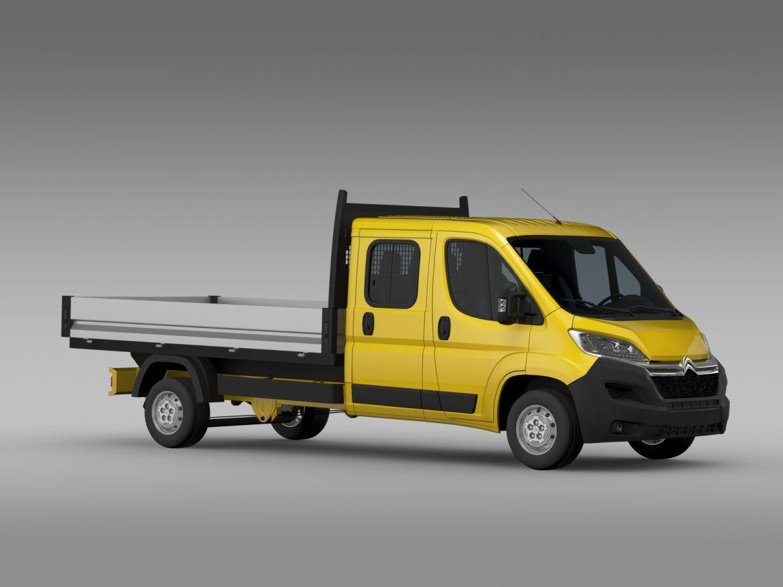 citroen džemperis apkalpes kabīnes kravas automašīna 2016 3d modelis 3ds max fbx c4d lwo ma mb dubļi hrc xsi 218666