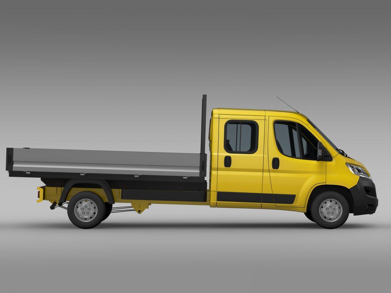 citroen džemperis apkalpes kabīnes kravas automašīna 2016 3d modelis 3ds max fbx c4d lwo ma mb dubļi hrc xsi 218667