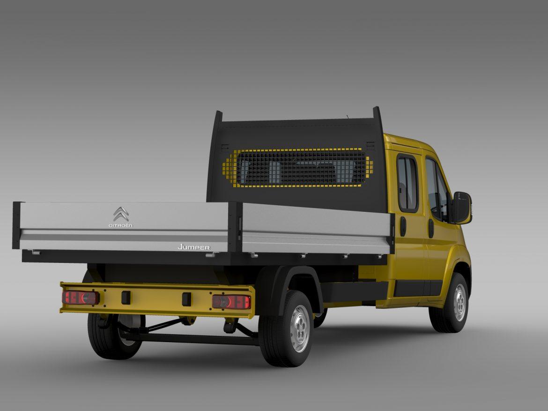 citroen džemperis apkalpes kabīnes kravas automašīna 2016 3d modelis 3ds max fbx c4d lwo ma mb dubļi hrc xsi 218669
