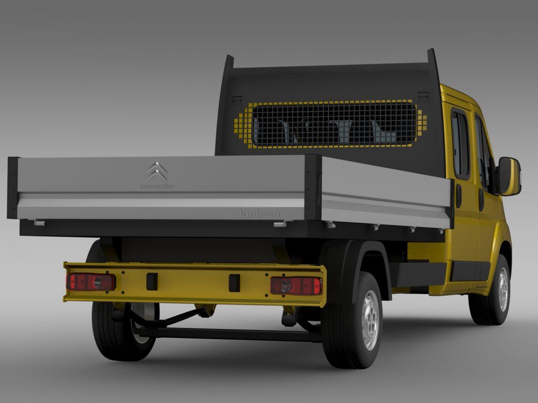 citroen džemperis apkalpes kabīnes kravas automašīna 2016 3d modelis 3ds max fbx c4d lwo ma mb dubļi hrc xsi 218670