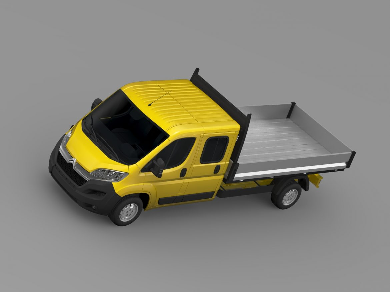 citroen džemperis apkalpes kabīnes kravas automašīna 2016 3d modelis 3ds max fbx c4d lwo ma mb dubļi hrc xsi 218673