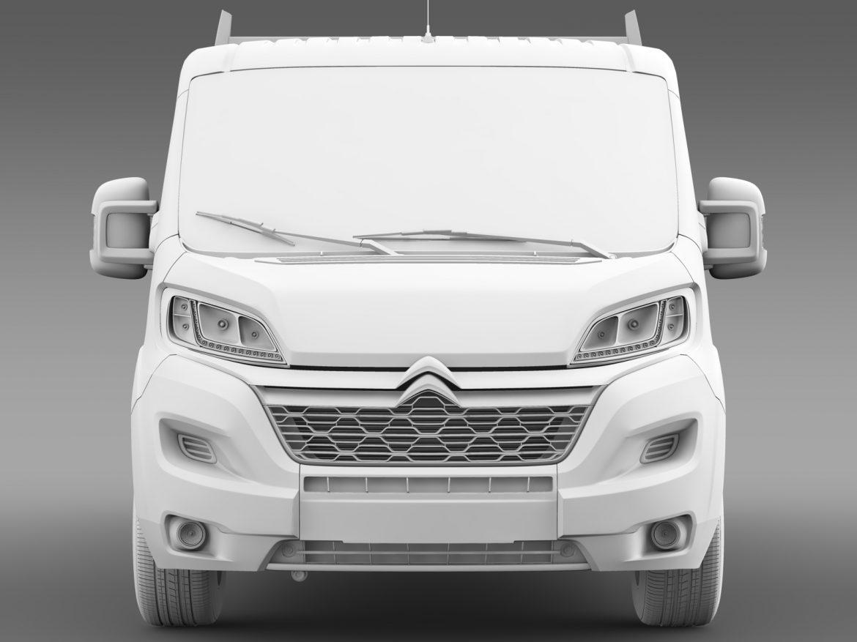 citroen džemperis apkalpes kabīnes kravas automašīna 2016 3d modelis 3ds max fbx c4d lwo ma mb dubļi hrc xsi 218676