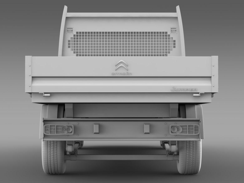 citroen džemperis apkalpes kabīnes kravas automašīna 2016 3d modelis 3ds max fbx c4d lwo ma mb dubļi hrc xsi 218677