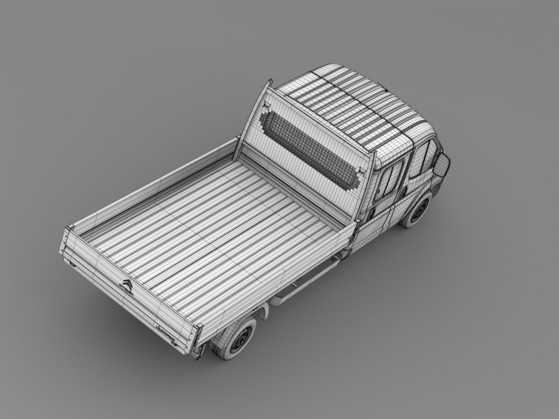 citroen džemperis apkalpes kabīnes kravas automašīna 2016 3d modelis 3ds max fbx c4d lwo ma mb dubļi hrc xsi 218680