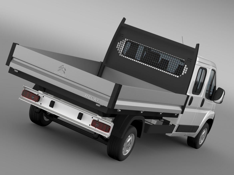 citroen releja apkalpes kabīnes kravas automašīna 2009-2014 3d modelis 3ds max fbx c4d lwo ma mb hrc xsi obj 218683