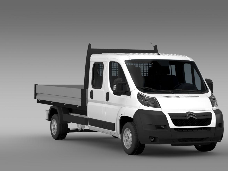 citroen releja apkalpes kabīnes kravas automašīna 2009-2014 3d modelis 3ds max fbx c4d lwo ma mb hrc xsi obj 218685