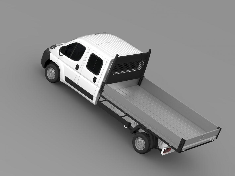 citroen releja apkalpes kabīnes kravas automašīna 2009-2014 3d modelis 3ds max fbx c4d lwo ma mb hrc xsi obj 218686