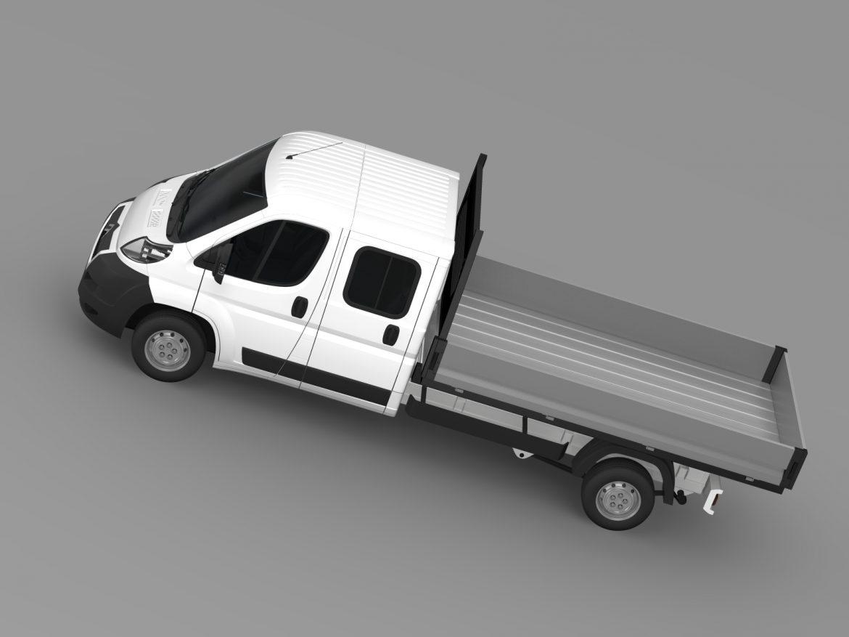 citroen releja apkalpes kabīnes kravas automašīna 2009-2014 3d modelis 3ds max fbx c4d lwo ma mb hrc xsi obj 218687