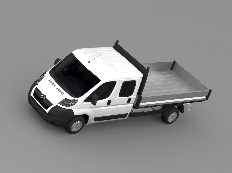 citroen releja apkalpes kabīnes kravas automašīna 2009-2014 3d modelis 3ds max fbx c4d lwo ma mb hrc xsi obj 218688