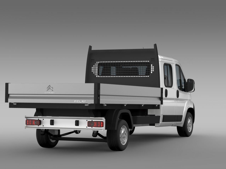 citroen releja apkalpes kabīnes kravas automašīna 2009-2014 3d modelis 3ds max fbx c4d lwo ma mb hrc xsi obj 218689