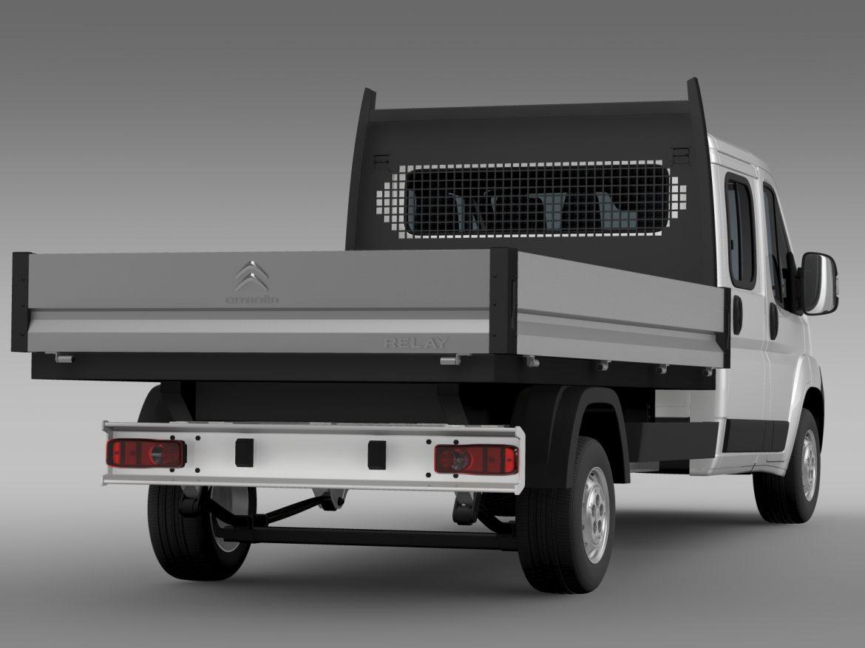 citroen releja apkalpes kabīnes kravas automašīna 2009-2014 3d modelis 3ds max fbx c4d lwo ma mb hrc xsi obj 218690