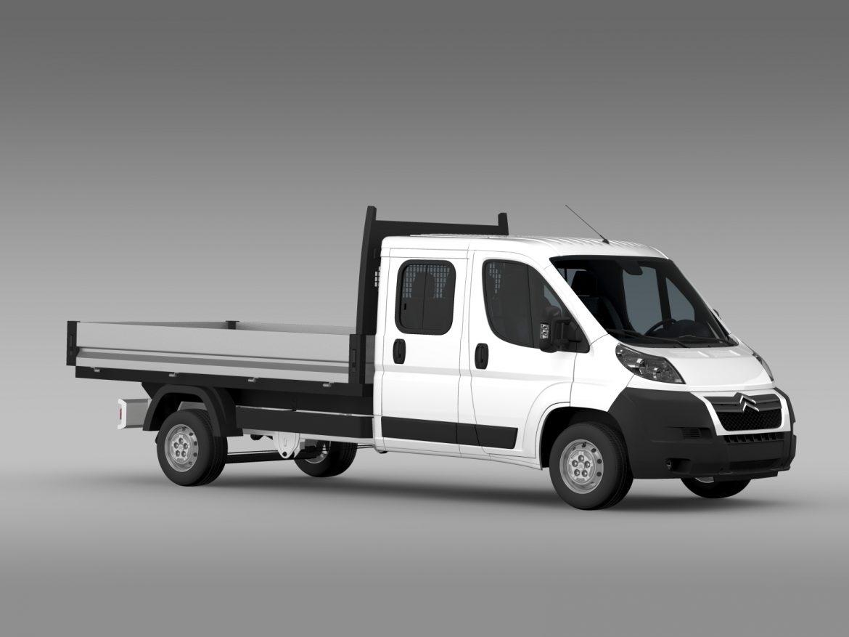 citroen releja apkalpes kabīnes kravas automašīna 2009-2014 3d modelis 3ds max fbx c4d lwo ma mb hrc xsi obj 218691