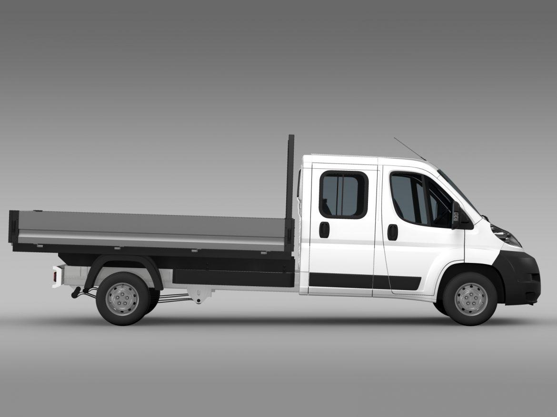 citroen releja apkalpes kabīnes kravas automašīna 2009-2014 3d modelis 3ds max fbx c4d lwo ma mb hrc xsi obj 218692