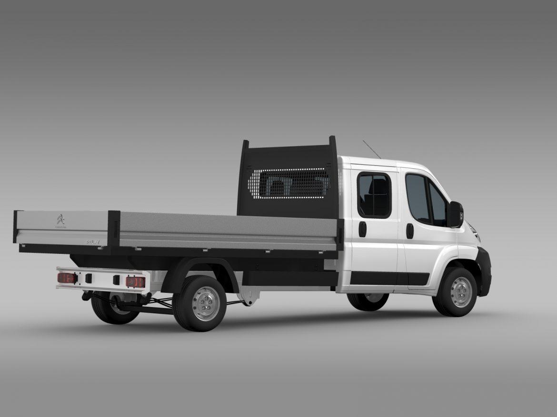 citroen releja apkalpes kabīnes kravas automašīna 2009-2014 3d modelis 3ds max fbx c4d lwo ma mb hrc xsi obj 218693