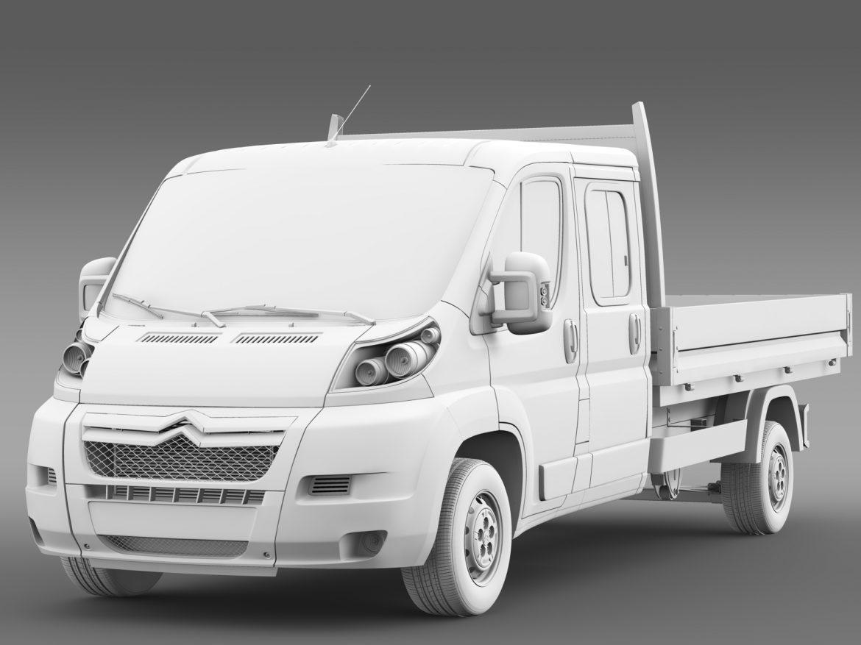 citroen releja apkalpes kabīnes kravas automašīna 2009-2014 3d modelis 3ds max fbx c4d lwo ma mb hrc xsi obj 218694