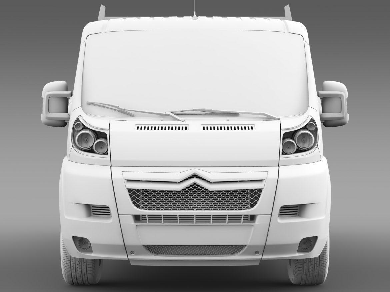 citroen releja apkalpes kabīnes kravas automašīna 2009-2014 3d modelis 3ds max fbx c4d lwo ma mb hrc xsi obj 218696