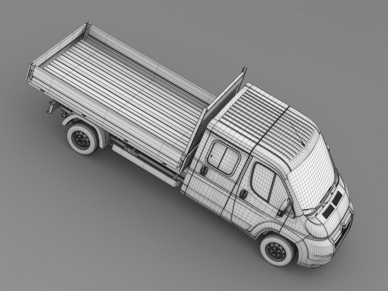 citroen releja apkalpes kabīnes kravas automašīna 2009-2014 3d modelis 3ds max fbx c4d lwo ma mb hrc xsi obj 218698