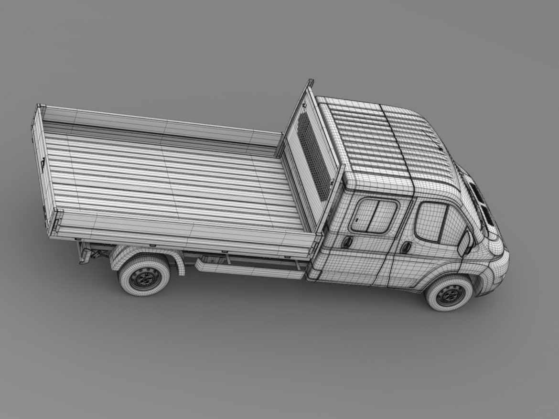 citroen releja apkalpes kabīnes kravas automašīna 2009-2014 3d modelis 3ds max fbx c4d lwo ma mb hrc xsi obj 218699