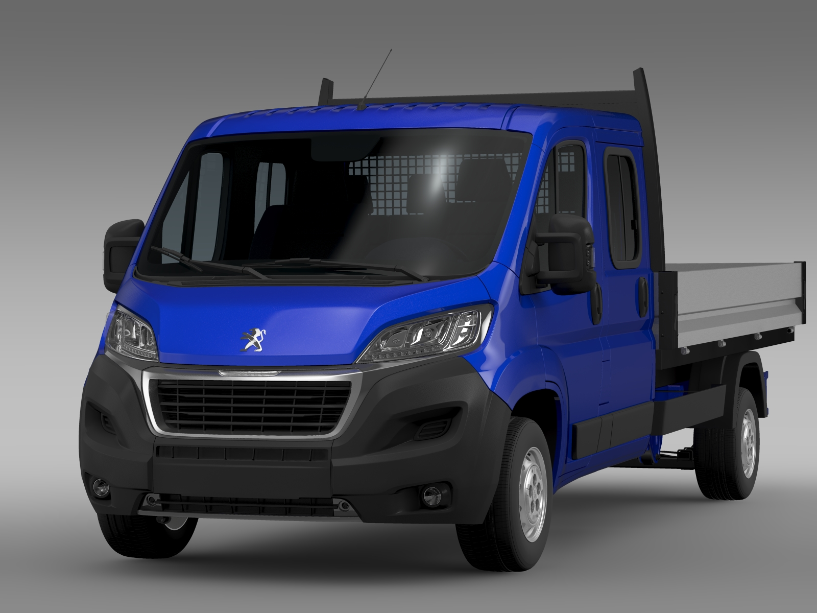 peugeot boxer crew cab truck 2016 3d model buy peugeot boxer crew cab truck 2016 3d model. Black Bedroom Furniture Sets. Home Design Ideas