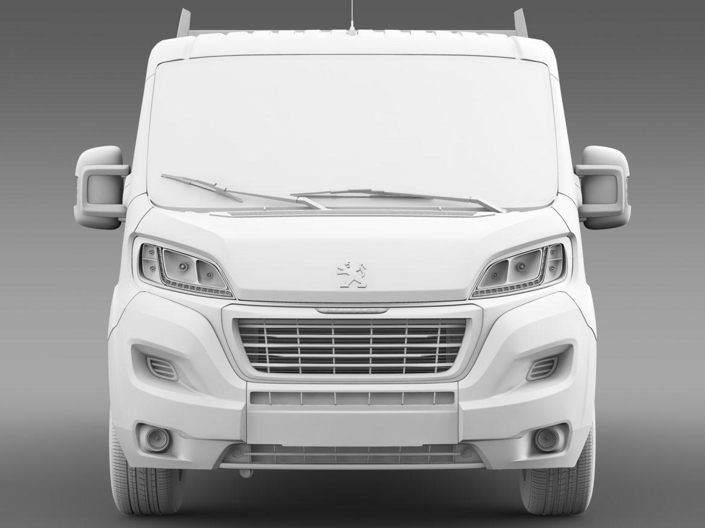 peugeot boxer crew cab truck 2016 3d model 3ds max fbx c4d lwo ma mb hrc xsi obj 218775