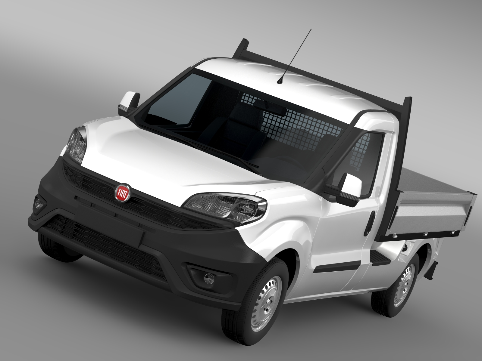 fiat doblo work up 263 2016 3d model buy fiat doblo work up 263 2016 3d model flatpyramid. Black Bedroom Furniture Sets. Home Design Ideas
