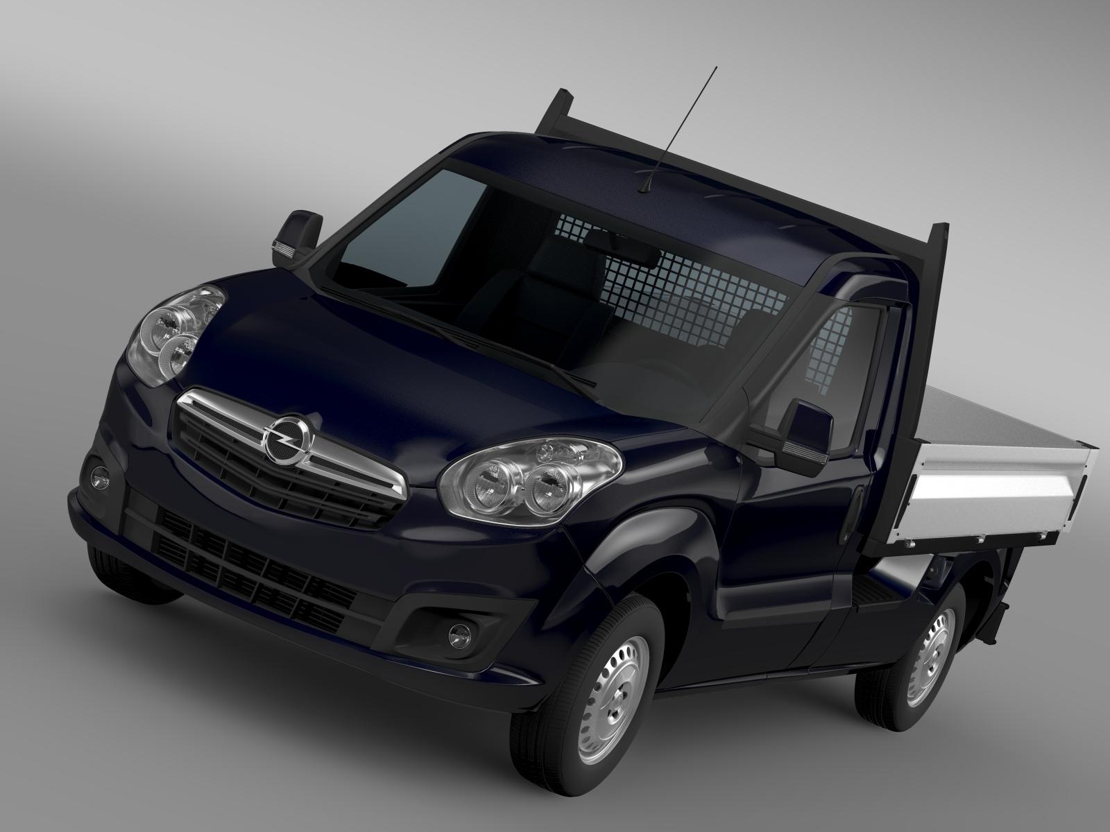 Opel Combo kallur 2015 3d mudel 3ds max fbx c4d lwo ma mb hrc xsi obj 218841