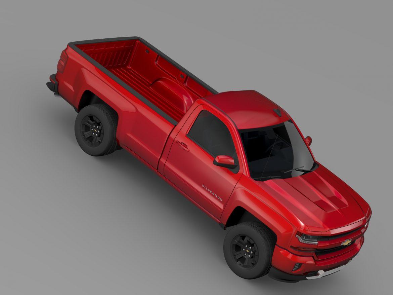 Chevrolet Silverado LT Z71 Regular Cab GMTK2 Long 3d model 3ds max fbx c4d lwo ma mb hrc xsi obj 219030