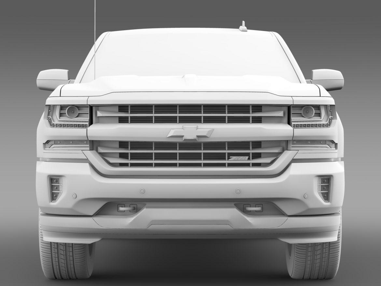 Chevrolet Silverado LT Z71 Regular Cab GMTK2 Long 3d model 3ds max fbx c4d lwo ma mb hrc xsi obj 219035