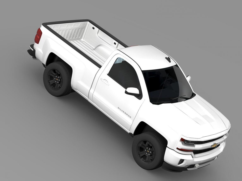 chevrolet silverado lt z71 regular cab gmtk2 stand 3d model 3ds max fbx c4d lwo ma mb hrc xsi obj 219050